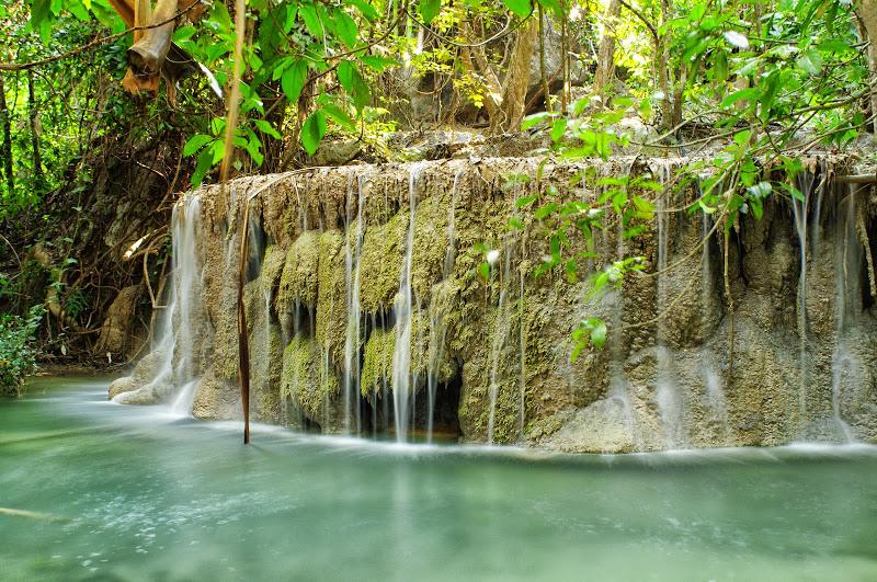 Erawan Cascade, Kanchanaburi. Viajes Tailandia