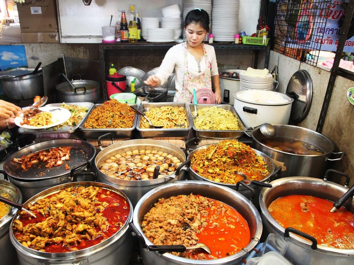Comer y beber Tailandia